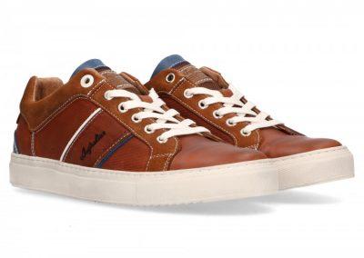 Australian empire-sneakers-cognac-blauw-wit 129,95